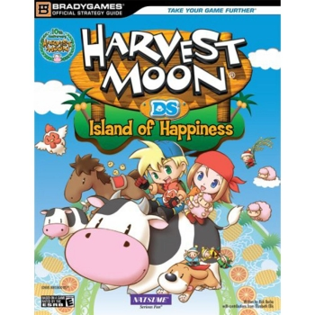 Harvest Moon Island of Happiness, offiz. Lösungsbuch / Strategy Guide