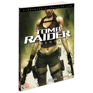 Tomb Raider 9 IX - Underworld, offiz. Dt. Lösungsbuch