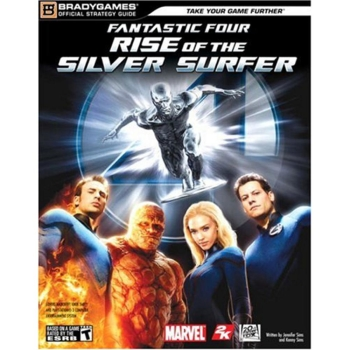 Fantastic Four Rise of the Silver Surfer, Lösungsbuch / Strategy Guide