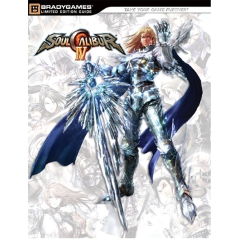 Soul Calibur 4 IV, offiz. Lösungsbuch / Collectors Guide + Soundtrack