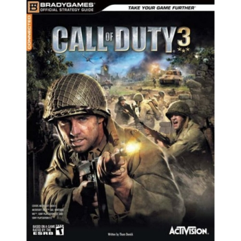 Call of Duty 3, offiz. Lösungsbuch / Strategy Guide