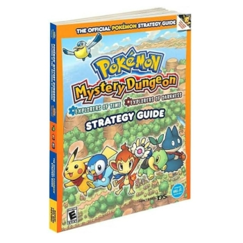 Pokemon Mystery Dungeon, offiz. Lösungsbuch / Strategy Guide