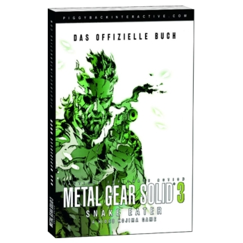 Metal Gear Solid 3 III, offiz. Dt. Lösungsbuch
