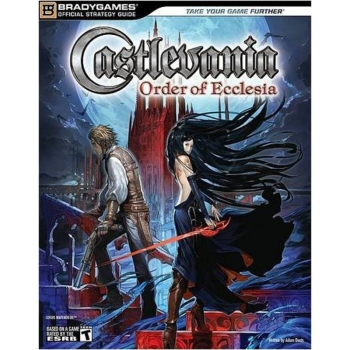 Castlevania - Order of Ecclesia, offiz. Lösungsbuch / Strategy Guide
