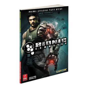 Bionic Commando, offiz. Lösungsbuch / Strategy Guide