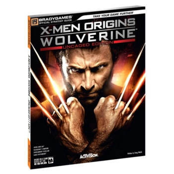 X-Men Origins: Wolverine, offiz. Lösungsbuch / Strategy Guide