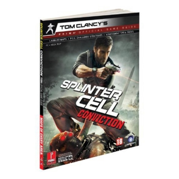 Tom Clancys Splinter Cell Conviction, offiz. Lösungsbuch / Strategy Guide