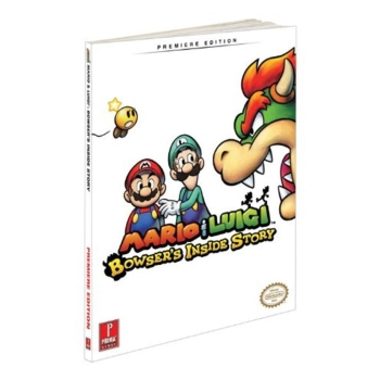 Mario & Luigi: Bowsers Inside Story, offiz Lösungsbuch Strategy Guide