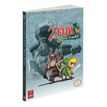 The Legend of Zelda Spirit Tracks, Engl. Lösungsbuch / Strategy Guide