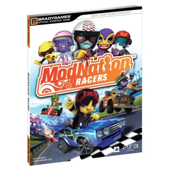 ModNation Racers, offiz. Lösungsbuch / Strategy Guide