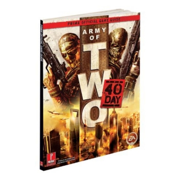 Army of Two: The 40th Day, offiz. Lösungsbuch / Strategy Guide