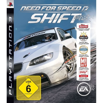 Need for Speed NfS SHIFT, Sony PS3