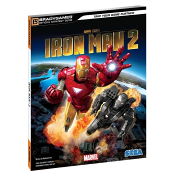 Iron Man 2, offiz. Lösungsbuch / Strategy Guide