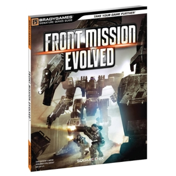 Front Mission Evolved, offiz. Lösungsbuch / Strategy Guide