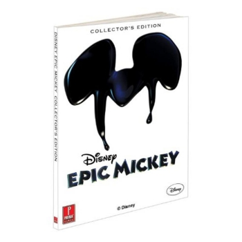 Epic Mickey, offiz. Lösungsbuch / Strategy Guide Collectors Edition