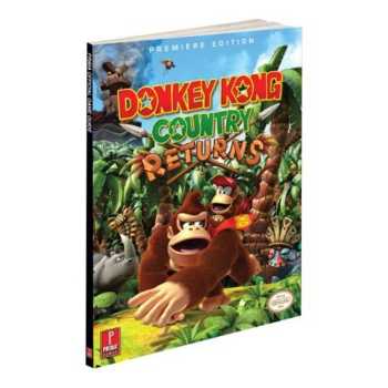 Donkey Kong Country Returns, offiz. Wii Lösungsbuch / Strategy Guide