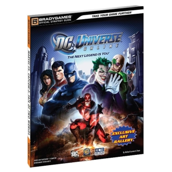 DC Universe Online, offiz. Lösungsbuch / Strategy Guide