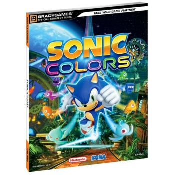 Sonic Colors, offiz. Lösungsbuch / Strategy Guide