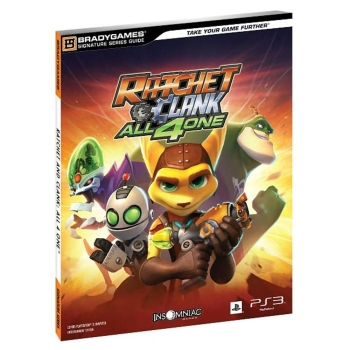 Ratchet & Clank All 4 One, offiz. Lösungsbuch / Strategy Guide
