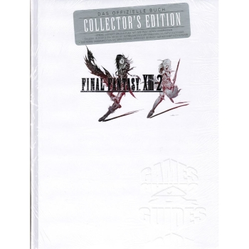 Final Fantasy 13-2 XIII-2 offiz Lösungsbuch Limited Collectors Edition
