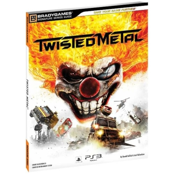 Twisted Metal, offiz. Lösungsbuch / Strategy Guide