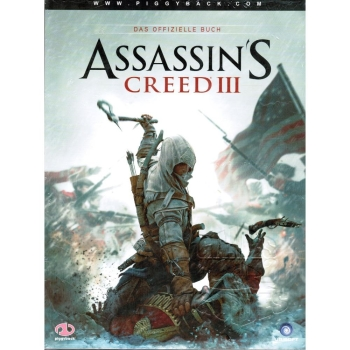 Assassins Creed 3, offiz. Dt. Lösungsbuch