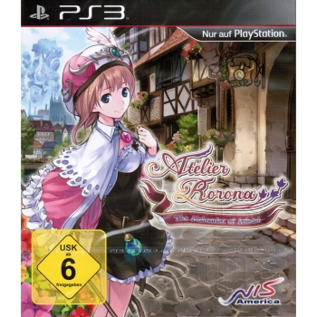 Atelier Rorona: The Alchemist of Arland, Sony PS3