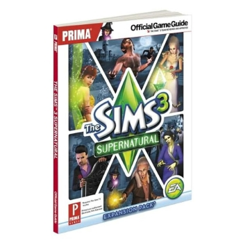 The Sims 3 Supernatural, offiz. Lösungsbuch / Official Game Guide