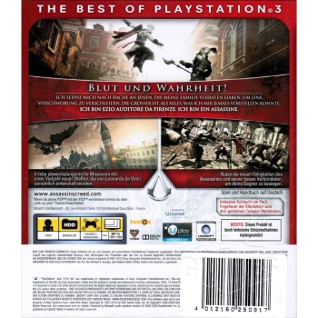 Assassins Creed 2 II Game of the Year Edition, Sony PS3