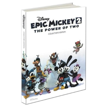 Epic Mickey 2 - The Power of Two, Lösungsbuch Collectors Edition Guide