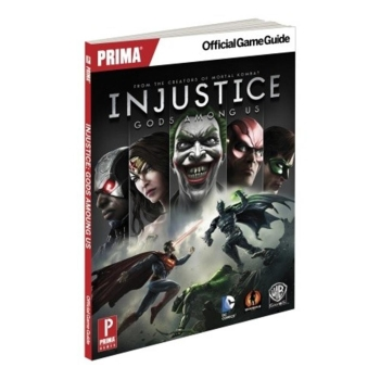 Injustice: Gods Among Us, offiz. Lösungsbuch / Game Guide