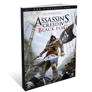 Assassins Creed IV 4 - Black Flag, offiz. Dt. Lösungsbuch