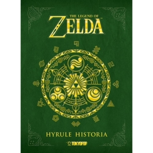 The Legend of Zelda - Hyrule Historia, Dt. Artbook