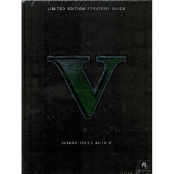 GTA 5 V Grand Theft Auto, offiz. Lösungsbuch/ Limited Collectors Guide