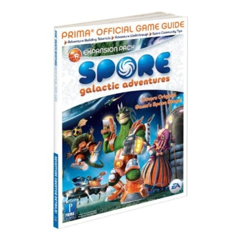 Spore Galactic Adventures, offiz. Lösungsbuch / Game Guide