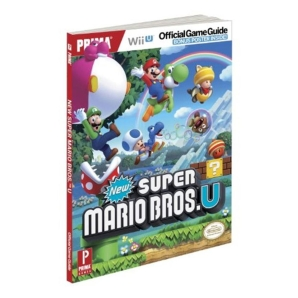 New Super Mario Bros. U, offiz. Lösungsbuch / Game Guide