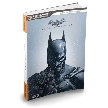 Batman Arkham Origins, offiz. Engl. Lösungsbuch / Strategy Guide