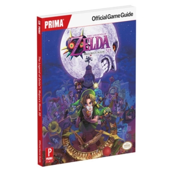 The Legend of Zelda: Majoras Mask 3D, offiz. Engl. Lösungsbuch Game Guide