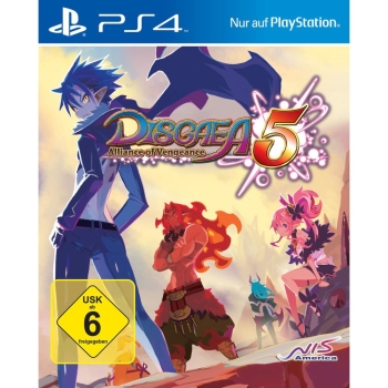 Disgaea 5: Alliance of Vengeance Launch Edition, Sony PS4
