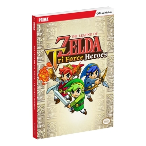 The Legend of Zelda: Tri Force Heroes, offiz. Engl....