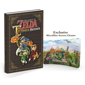 The Legend of Zelda: Tri Force Heroes, offiz. Engl. Lösungsbuch / Collectors Edition Guide