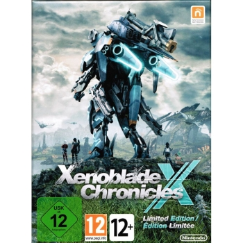 Xenoblade Chronicles X Limited Steelbook Edition, Nintendo Wii U