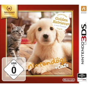 Nintendogs + Cats Golden Retriever + Neue Freunde, 3DS