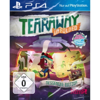 Tearaway Unfolded - Messenger Edition, Sony PS4