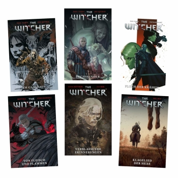The Witcher Comic Band 1 + 2 + 3 - Im Glashaus / Fuchskinder / Krähen