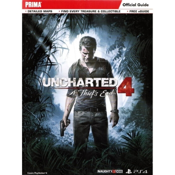 Uncharted 4, Engl. Lösungsbuch / Official Guide