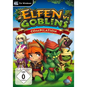 Elfen vs. Goblins Compilation Defender + Mahjongg World, PC