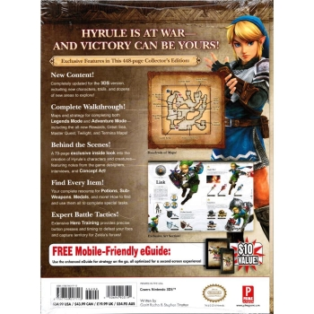 Hyrule Warriors Legends, offiz. Lösungsbuch / Collectors Guide