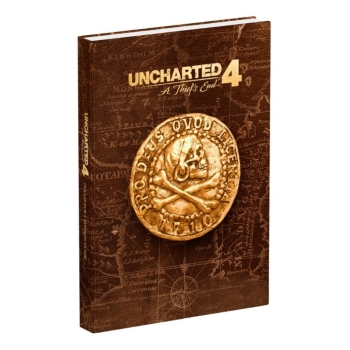 Uncharted 4 - A Thiefs End, offiz. Dt. Lösungsbuch Collectors Edition