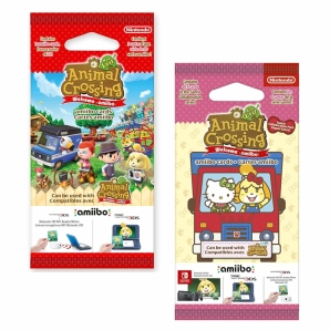 amiibo Sammelkarten Pack Animal Crossing / Mario Sports...